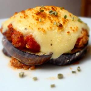 Berenjenas Gratinadas al Parmesano