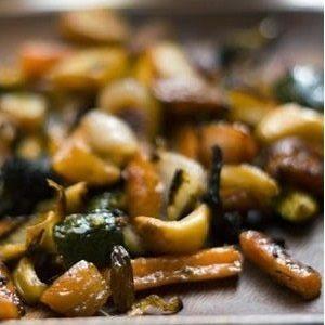 verduras braseadas al horno